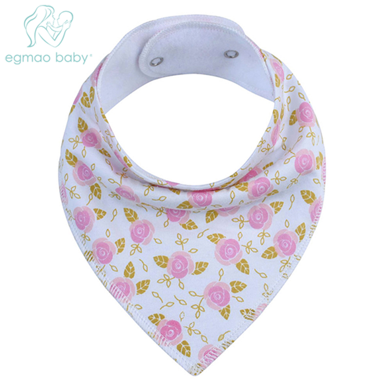 100% Organic Cotton Baby Bandana Drool Bibs, Unisex Gift Set for Drooling and Teething,Soft and Absorbent, Hypoallergenic