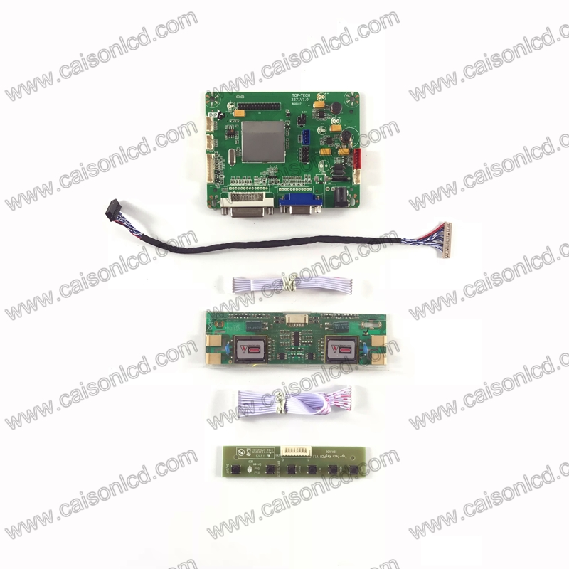 TP2271 LCD controller board support DVI VGA for LCD panel 15 inch 1024x768 T150XG01 V3 M150X3-L04 LQ150X1LGB1 LQ150X1LW72 diy g121x1 l04 lcd displays