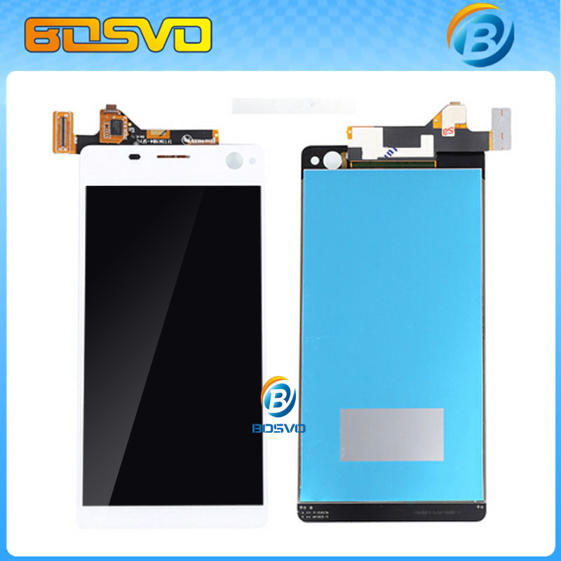 Подробнее о Wholesale LCD Display with Touch Screen Digitizer Assembly For Sony for Xperia C4 E5303 E5306 E5333 10pcs DHL EMS shipping wholesale black and white lcd screen display and touch screen digitizer assembly for sony for xperia m5 free dhl ems shipping