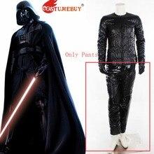 CostumeBuy película Star Wars Darth Vader Cosplay pantalones Halloween para  adultos pantalones de cuero ropa interior L920 c3a8745db831