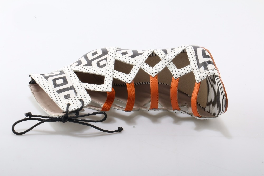 Géométrique Talons Cut Boot Pour As Sexy Dentelle Réel Ouvert Bout outs Cheville Picture 2018 Hauts À Gladiateur Sandale up Photo Femme Bottes ztwqFrt