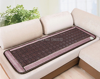 2017 as seen on tv Fabric tourmaline therapy jade sofa cushion heating sleeping mattress with free present eye cover 50*150CM