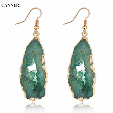 Canner Boho Jewelry Vintage Earrings For Women Girl Long Dangle Resin Bohemian Fashion 2019
