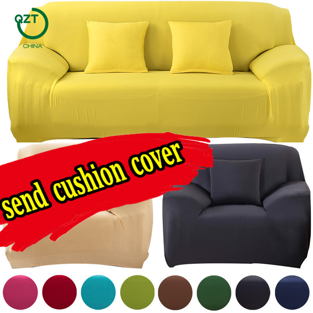Case For Sofa Furniture Protect Colorful Stretch Coth Slipcovers Universal Stretcher L Shaped Corner Elastic