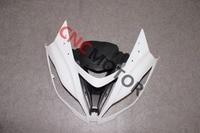 Front upper mũi top fairing cho kawasaki Ninja ZX6R ZX-6R ZX636 2013-2014 Unpainted