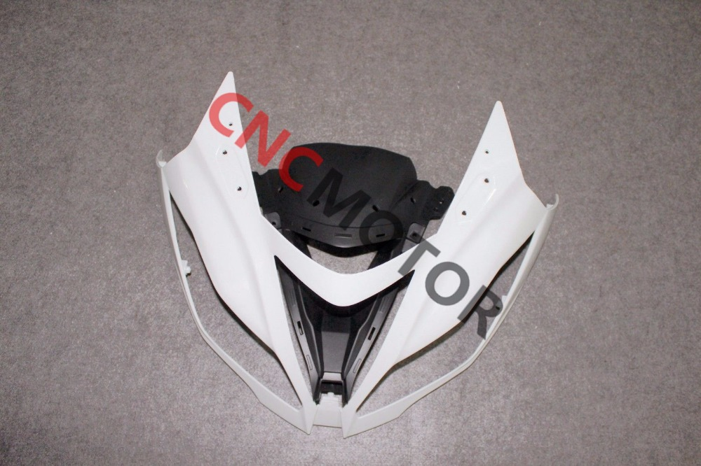 Front upper nose top fairing for kawasaki Ninja ZX6R ZX-6R ZX636 2013-2014 Unpainted engine case alternator generator stator guard cover for kawasaki zx6r zx 6r zx636 zx 6r 636 2013 2014 2015 2016