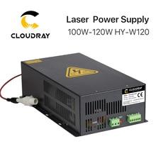 Cloudray 100 120 w co2 레이저 전원 공급 장치 co2 레이저 조각 기계 HY W120 t/w 시리즈