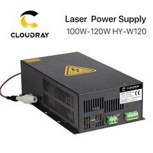 Cloudray 100 120 w fonte de alimentação do laser do co2 para a máquina de corte HY W120 t/w da gravura do laser do co2 series
