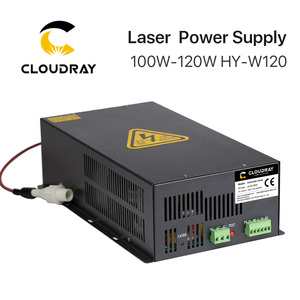 Image 1 - Cloudray fuente de alimentación láser CO2, 100 120W, para máquina cortadora de grabado láser CO2, HY W120 serie T / W