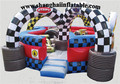 top quality inflatable fun city hot fun house outdoor playground for sale inflatable maze inflatable Obstacle course