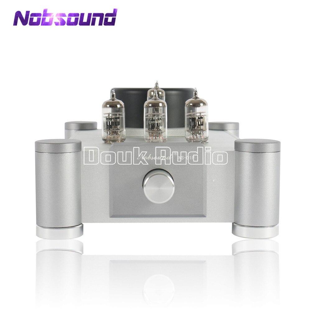 Nobsound 12AX7 (Tesla/JJECC83) válvula & Tubo De Vácuo Amplificador Stereo Hi-Fi Stereo Audiophile-Classe Pré-Amplificador Marantz Ref 7