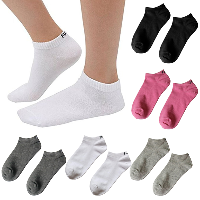 Colorful Hosiery Casual Socks for Men and Women Ankle Socks English letter Cotton socks  ...