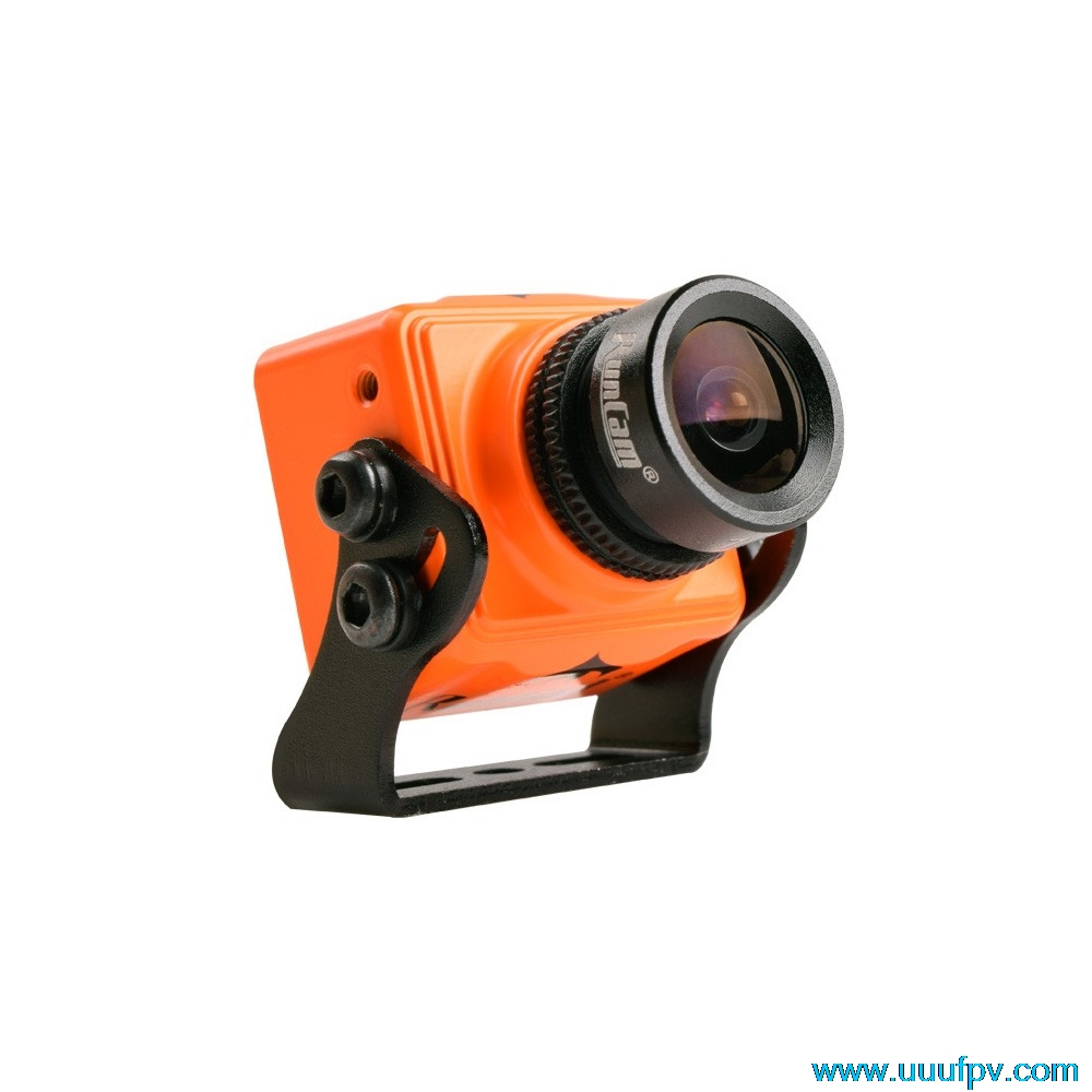 все цены на  100% Original  RunCam Swift Mini 600TVL camera PAL/NTSC Fov 130 angle with 2.3mm lens Base Holder for FPV Race drone  онлайн