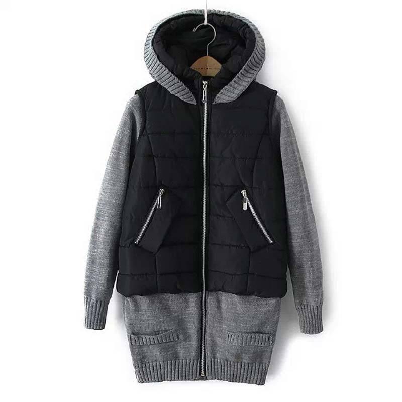 2015 new autumn Winter women down cotton hooded ja...