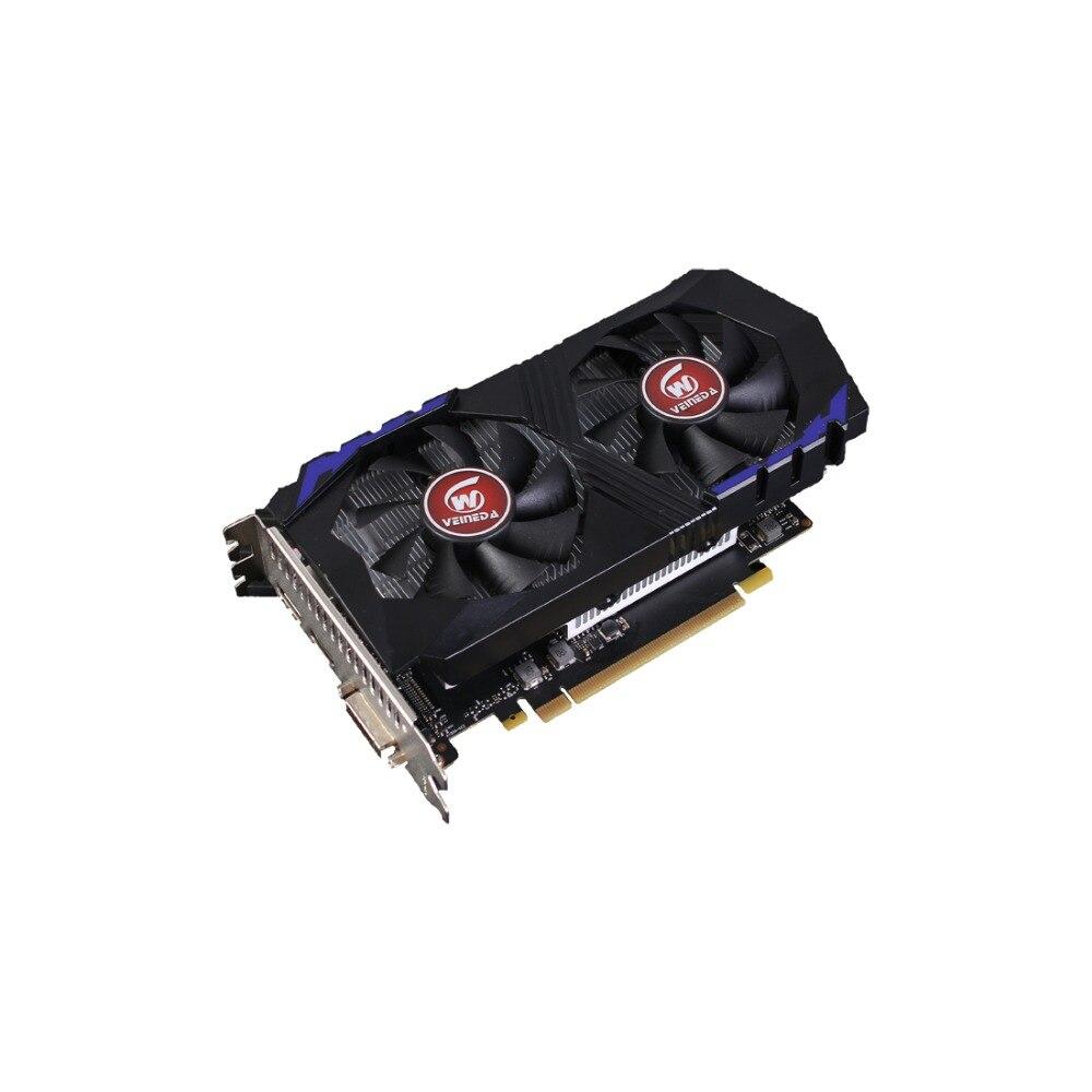 Carte vidéo VEINEDA pour carte graphique d'ordinateur PCI-E GTX1050Ti GPU 4G DDR5 pour jeu nVIDIA Geforce - 5