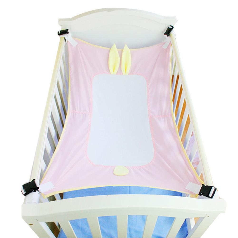Infant Baby Hammock For Newborn Kid Sleeping Bed Safe Detachable Baby Cot Crib Elastic Hammock With Adjustable Net