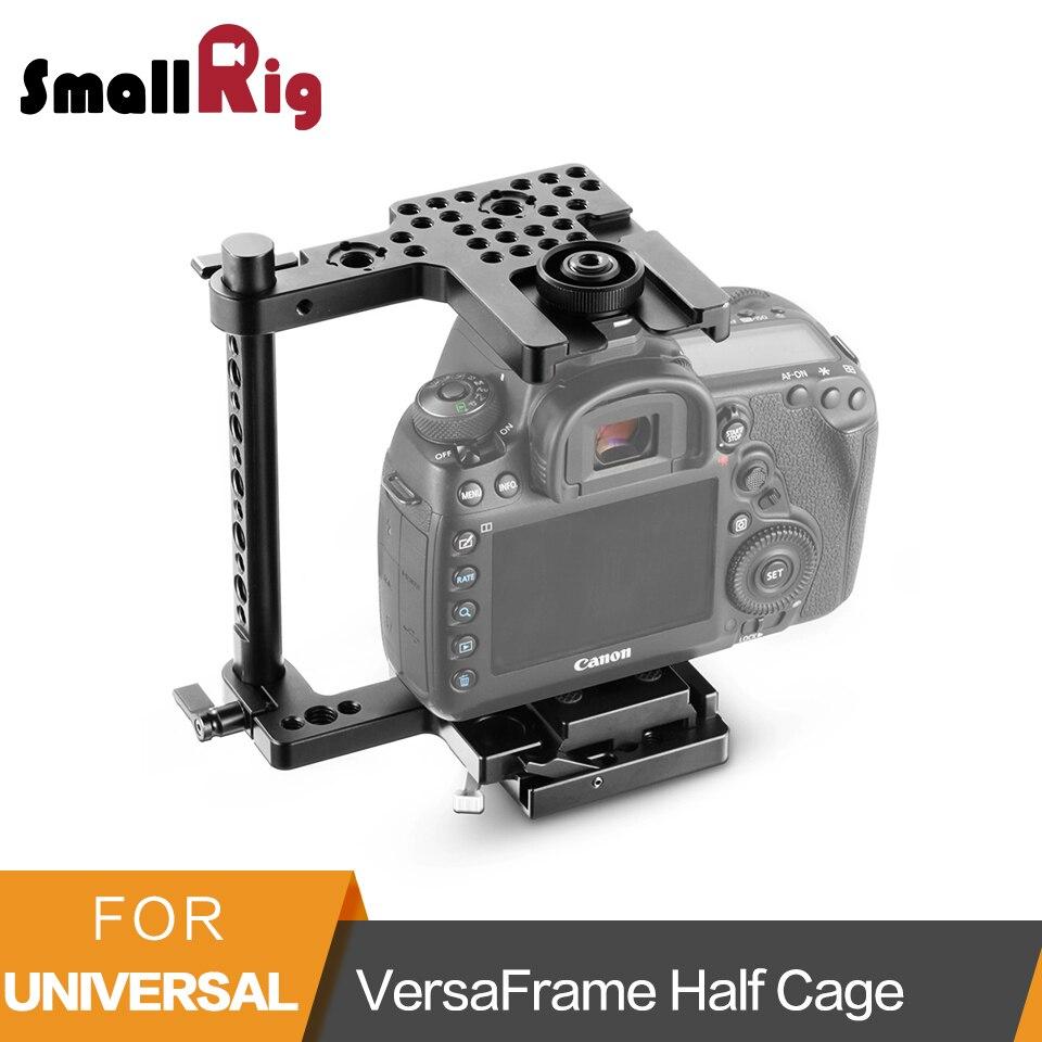 SmallRig QR VersaFrame половину клетки (средний) для среднего Canon и цифровых зеркальных камер Nikon-2127