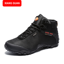 XIANG GUAN Men's Jungle Boots Dessert Tactical Combat Boots Outdoor Hiking Shoes Army Military Boots EUR size 39-48 82283