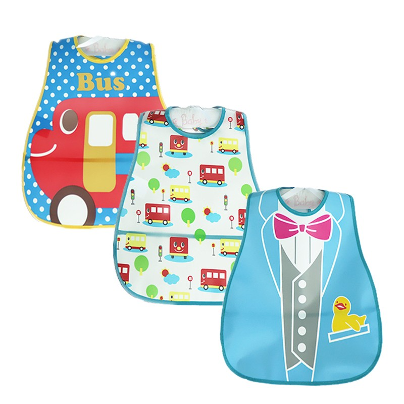 Újonnan készült 3 PCS / LOT Baby Bibs divattervezés Bandana - Bébi ruházat