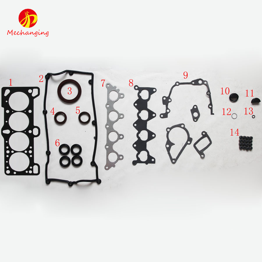 G4ed for hyundai 2004 terracan parts metal full set auto parts car accesories engine seal gasket