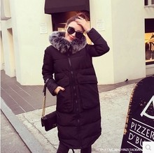 2016Winter Down Cotton-padded Clothes Long Fund Korean Student Loose Winter Clothes Cotton-padded Jacket dy0104