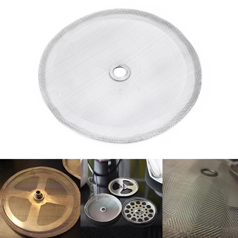 Universal Design Metal Lavável fit Substituição Telas de Malha Cafeteira Para Café 101mm/4in Imprensa do Café