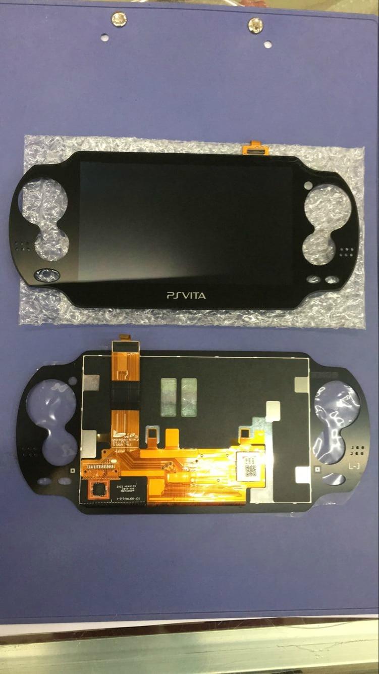 Оригинальный oled ЖК-дисплей для ps vita 1000 psvita psv 1000, ЖК-дисплей с тачскрином без рамки, бесплатная доставка