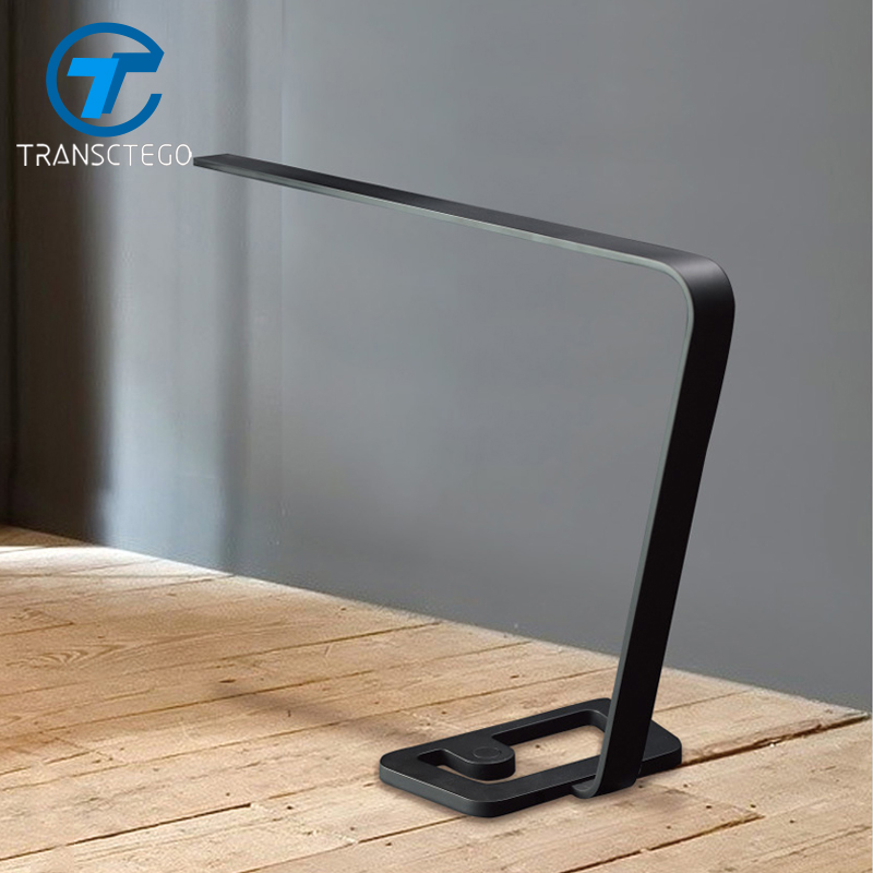Led Desk Lamp Simple Style Table Lamps Touch Control Switch Dimmable Light Desklight For Reading luminaria de mesa escritorio white rotating rechargeable led talbe lamp usb micro charging eye protection night light dimmerable bedsides luminaria de mesa