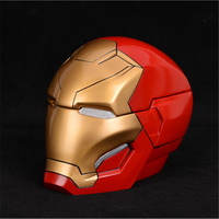 The Avengers Superhero Iron Man Tony Stark Cosplay Props Resin Mask Helmet Multifunction Storage Box Decoration Robert Downey Jr