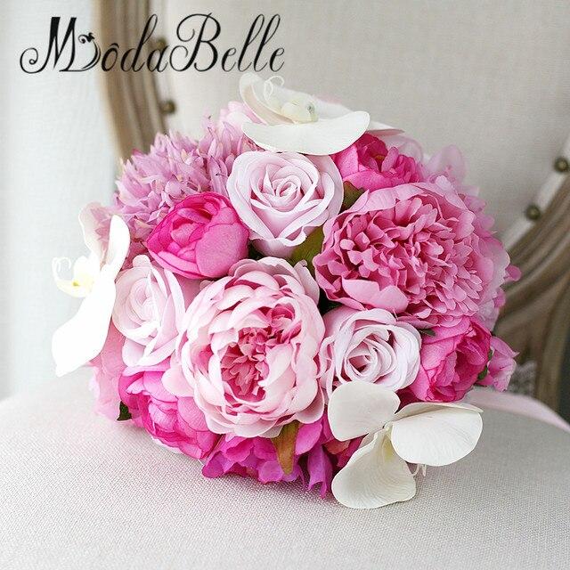 Modabelle peonies wedding flowers bridal bouquet pink bridesmaid modabelle peonies wedding flowers bridal bouquet pink bridesmaid bouquets roses buques para casamento artificial mightylinksfo