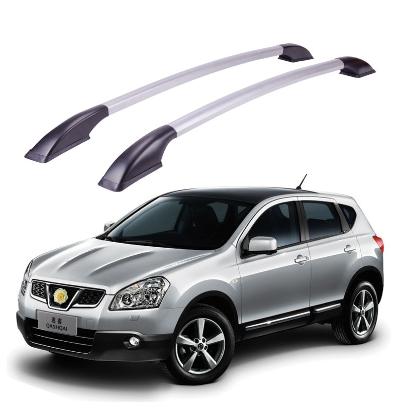 Auto parts Refitting the roof rack of aluminum alloy luggage rack for Nissan qashqai 1.6M Accessories free of punch auto parts refitting the roof rack of aluminum alloy luggage rack for suzuki swift 1 3m accessories