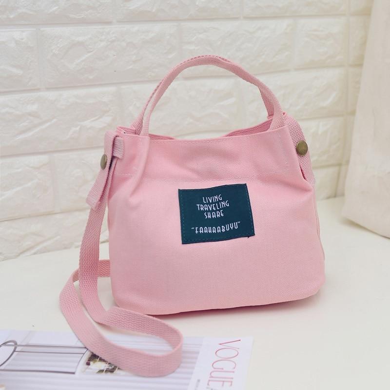 New Soft Canvas Bag Large Capacity Women Shopping Bag Ladies Daily Use Handbags 2019 Hot Mini Casual Beach Bag Tote