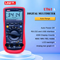 Digital Multimeter UNI T UT61A Hohe Zuverlässigkeit Professionelle Elektrische Handheld Tester CD Hintergrundbeleuchtung & Daten Halten Multitester-in Multimeter aus Werkzeug bei