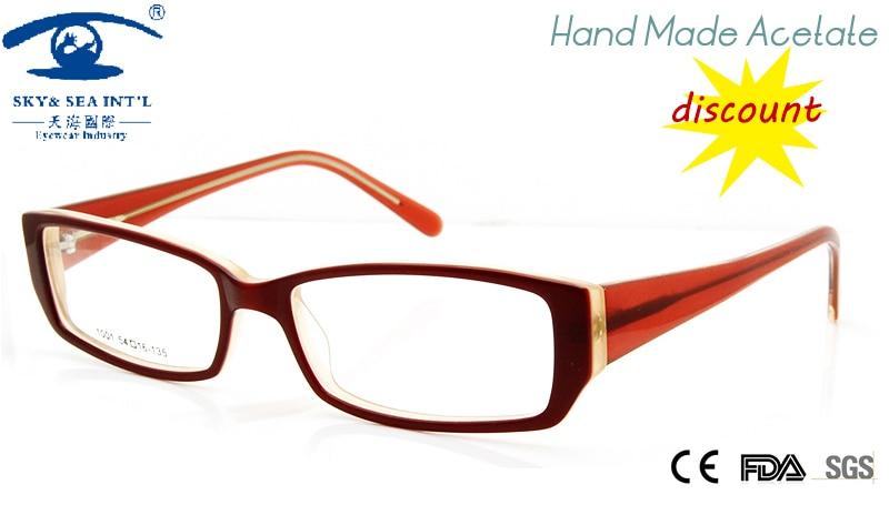 new cheap eyewear frames hand made acetate prescription eyeglasses women computer glasses frame female eyewear accessories
