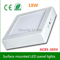 Dimmable 18W led panel lights AC85 265V 1600LM led ceiling kitchen lamps 90pcsled newdesign power savin for foyer kitchen