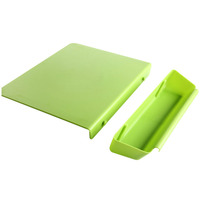 2 in 1 Foldable Chopping Board Non slip Cutting Mat Camping Antibacteria Kitchen Supplies TB Sale