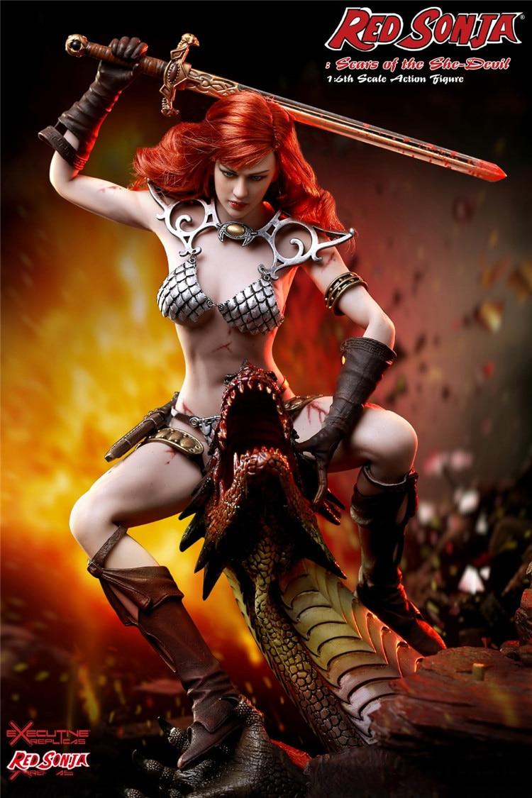 TBLeague Phicen 1//6 PL2016-93 Red Sonja Combat Cool Action Figure In Stock