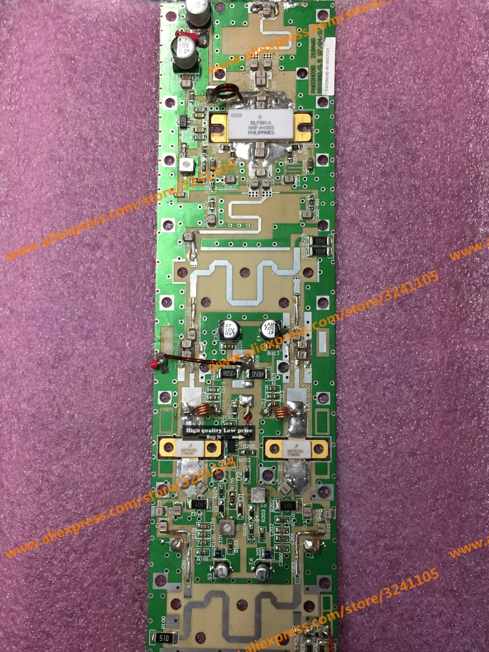 цена на Free shipping  MRF9030L BLF861A  board module test good Second-hand motherboard high demand buyer please do not buy