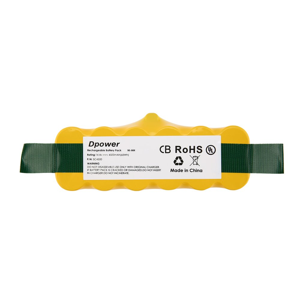 6000mAh Replacement Ni-MH Battery for iRobot Roomba 500 600 700 800 series hE