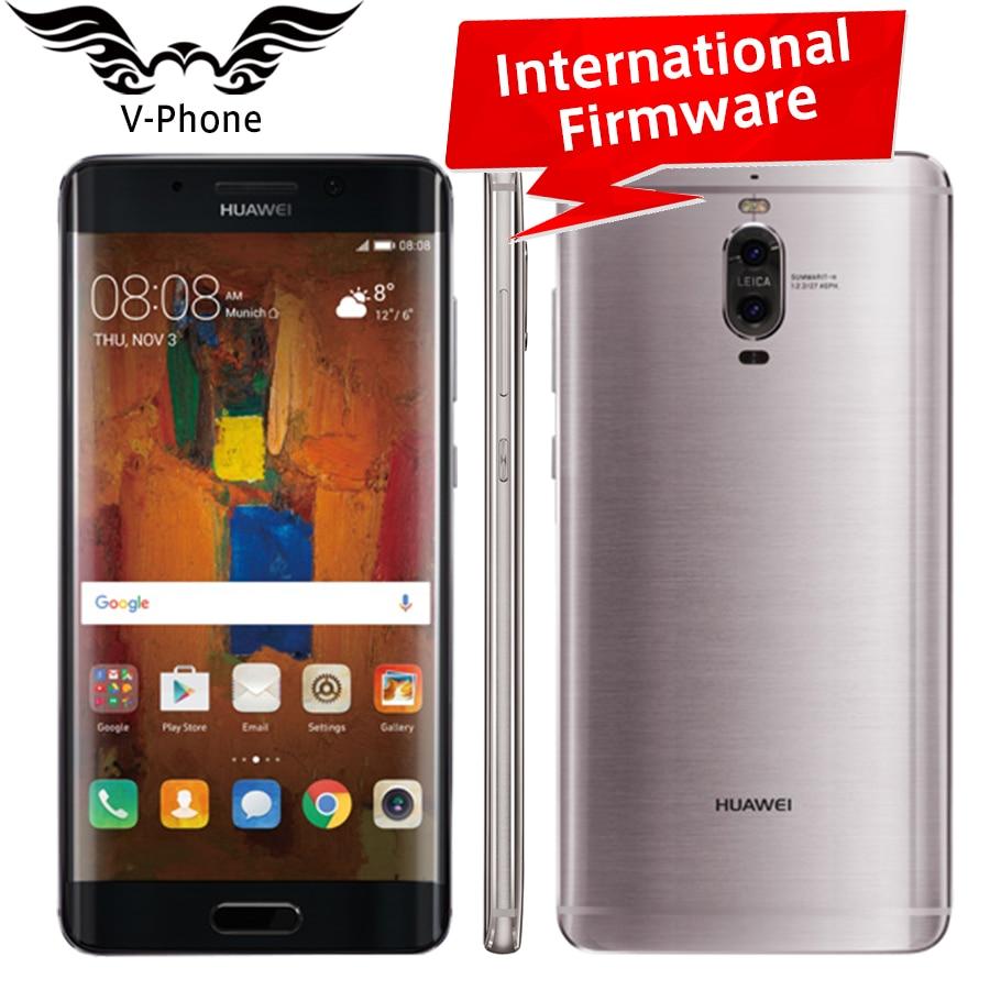 Original Huawei Mate 9 Pro 4G LTE Mobile Phone 4GB RAM 64GB ROM Octa Core 5.5' Dual Rear Camer 20MP+12MP Fingerprint Smart Phone