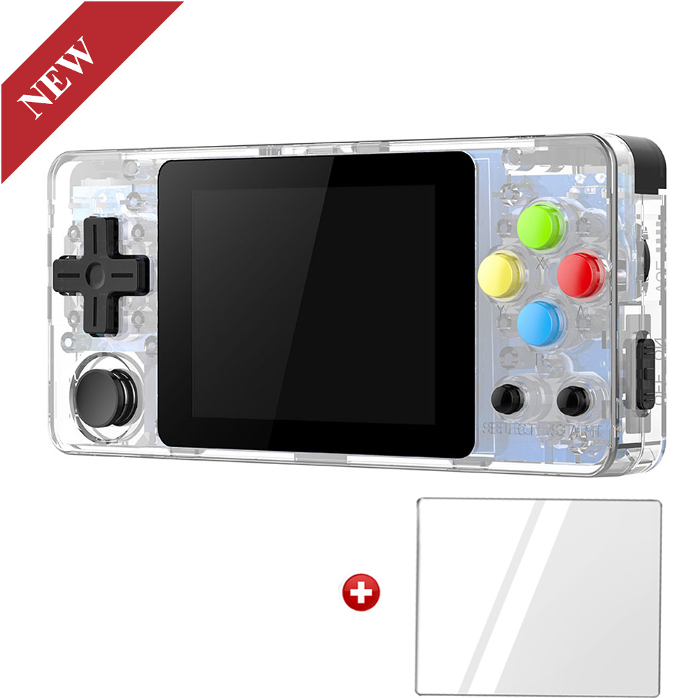 Image 2 - LDK Landscape Version+Tempered glass film, 2.6inch Screen Mini Handheld Game Console.Handle game players. Three colours in stock-in Handheld Game Players from Consumer Electronics