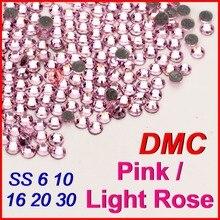 CHS938 DHL Custom Made Light Pink Gold Crystal Bow