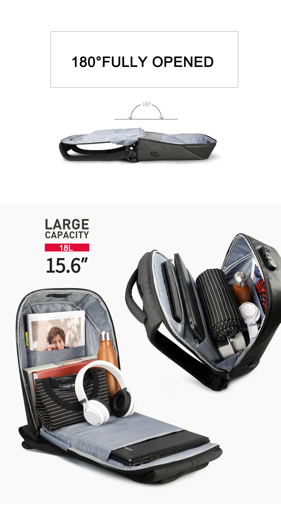 HTB1KvX3DFmWBuNjSspdq6zugXXaG Tigernu Women Anti Theft TSA Lock female Laptop Backpack USB Charge School Bag for Teenager girls Feminine Backpacks Bagpack