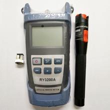 광섬유 테스터 도구 키트 RY3200 광 파워 미터 및 VFL 파이버 레이저 펜 비주얼 오류 탐지기 10mw 20mW 30mW