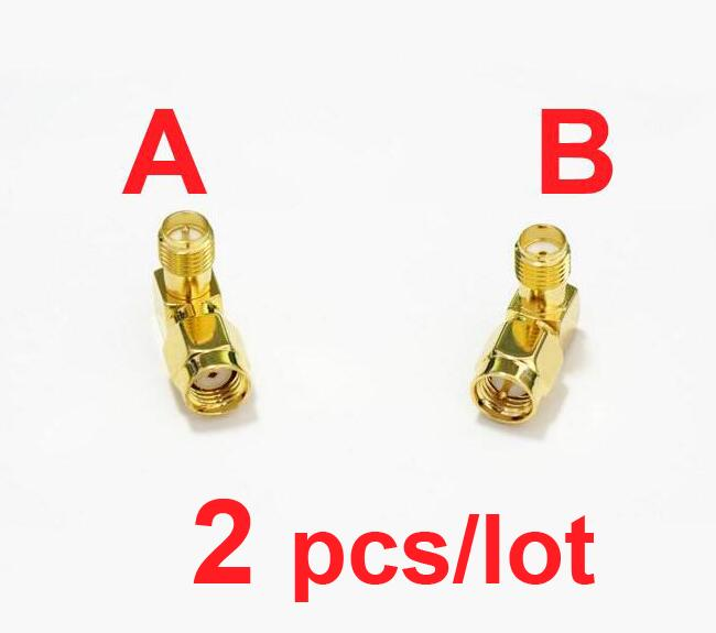 2pcs/lot SMA-JKW SMA RP-SMA RP SMA Male Female FPV antenna plug adapter conversion Connector 90 degrees Right Angle,L shape 2pcs new sma female jack nut right angle connector switch mmcx male plug right angle rg178 cable 15cm 6 adapter wholesale