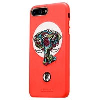 NILLKIN Brand For Iphone7 Plus Case Fashion 3D Embroidery Leather Case For Iphone7 Plus Cover