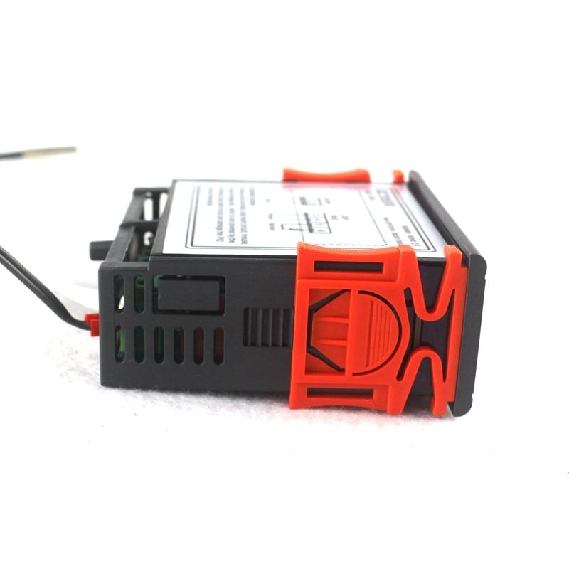 RC-113M AC 220V 2A PID digitális termosztát szabályozó - Mérőműszerek - Fénykép 2