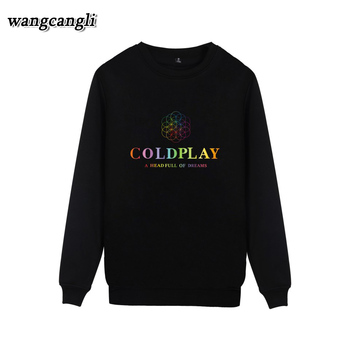 2019 Coldplay Rock Bank Casual MenWomen Hoodies Sweatshirt Cool Spring Autumn Clothes hip hop hoodie Sweatshirts Plus Size jung kook bts persona