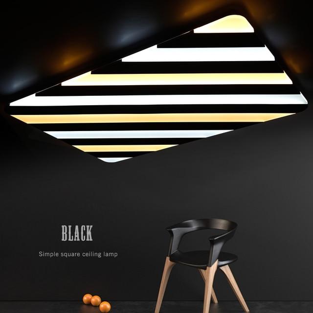 Neu gestaltete led deckenleuchte, moderne streifen styling, acryl ...