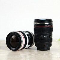 Camera Lens Shape Cup Coffee Tea Travel Mug Stainless Steel Vacuum Flasks Worldwide Store